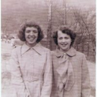Betty Copley and Pansy Ratliff